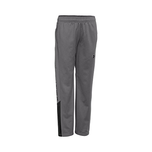 Under Armour Boys Brawler 2.0 Pant, Graphite/Black, Youth Medium