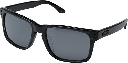 Oakley Men's Twoface OO9189-26 Polarized Rectangular Sunglasses, Matte Black, 60 - Face Sunglass