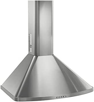 Amazon Com Frigidaire Fxwc51ec Wall Mounted Range Hood Stainless Steel Flue Extension For 10 Foot Ceilings Home Improvement