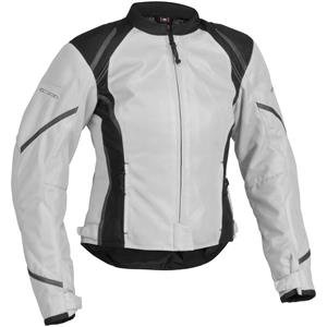 Firstgear Women's Mesh Tex Jacket - Large/Silver/Black