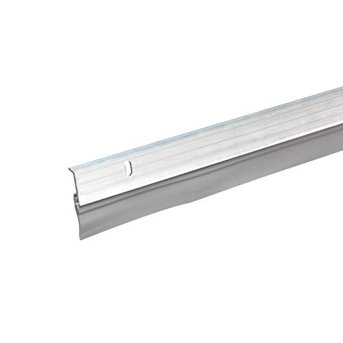 Frost King A59/36H Premium Aluminum And Vinyl Door Sweep 1-5/8-Inch by 36-Inches, Silver