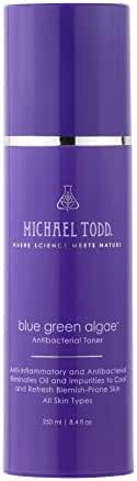 Michael Todd Blue Green Algae Balancing Toner to Enhance Freshly Cleansed Pores with Calming Minerals and Fortifying Nutrients, 8.4 Ounce