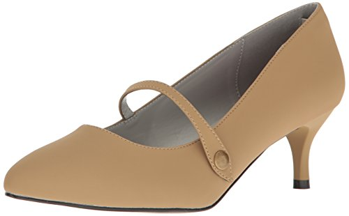 Pleaser Damen Kitten-03 Pumps Taupe Nubuck