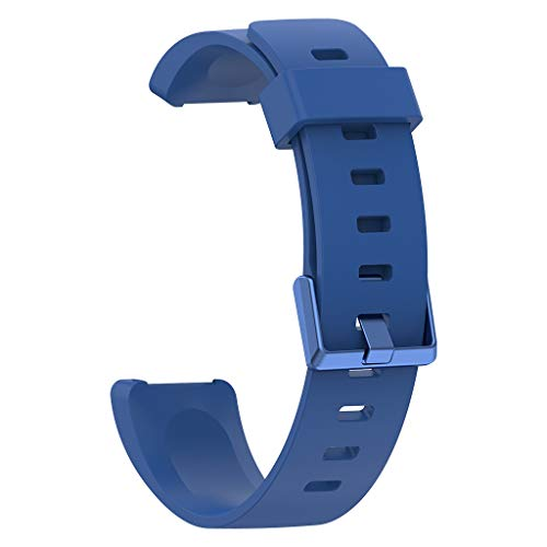 Price comparison product image BIYATE Compatible Fitbit Inspire HR & Inspire Bands, Large Silicone Replacement Wristband Men's Bracelet Accessories for Fitbit Inspire & Inspire HR Fitness Tracker for Women