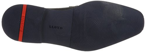 LLOYDIke - Zapatos Derby Hombre Schwarz (Schwarz/Ocean)