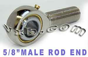 Male Rod End 5/8 POSB10 Right Hand Ball Bearings