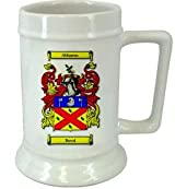 Berral Family Crest Stein / Berral Coat of Arms Stein