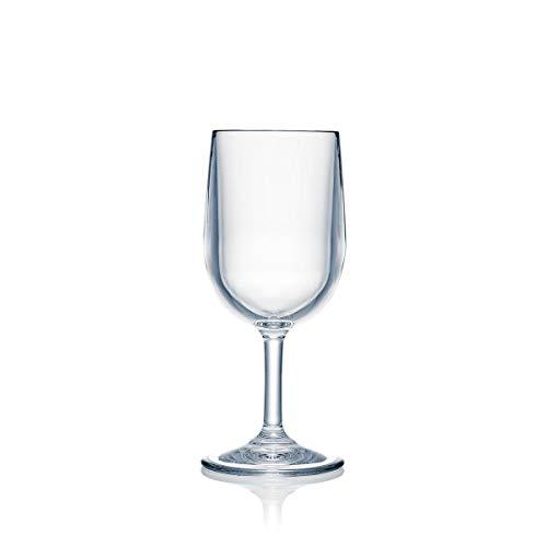 Strahl Design+Contemporary 8-oz Wine Glass, Set of - Wine Plastic Polycarbonate Glasses