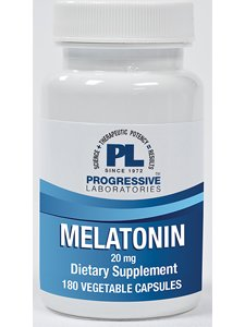Progressive Labs - Melatonin 20 mg 180 Veggie Capsules