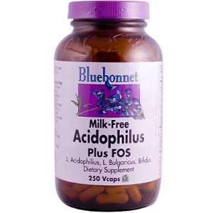 Lait-gratuit acidophilus plus FOS