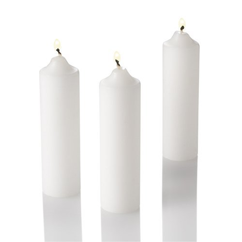 Unscented Richland Vigil Candles Set of 200