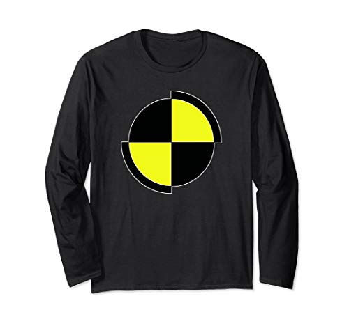 Costume Shirts | CRASH TEST DUMMY For Halloween or Party Long Sleeve T-Shirt]()