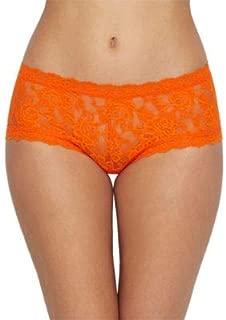 product image for hanky panky Signature Lace Boyshort, X-Small, Satsuma