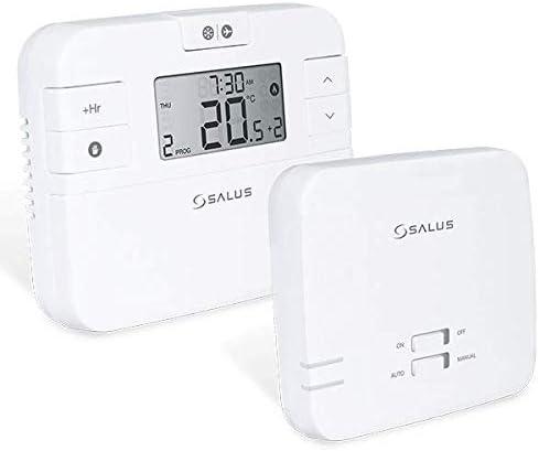 Salus RT510RF/TX - Termostato inalámbrico programable (control de calefacción).