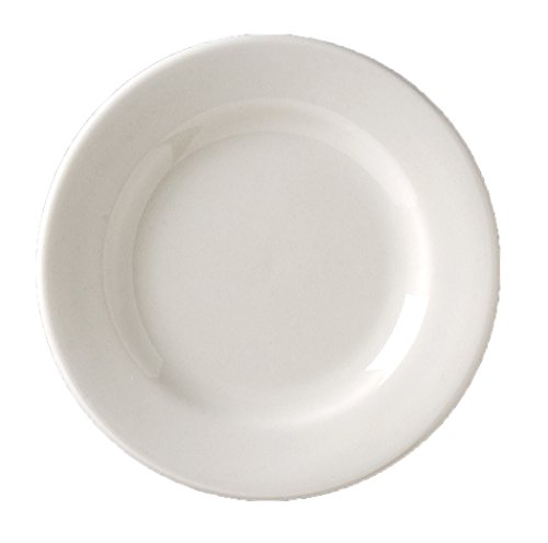 "Vertex China VRE-16 Vista Plate, #10, 10-1/2"", Bone White"
