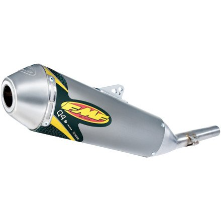 03-19 HONDA CRF230F: FMF Q4 Spark Arrestor Slip-On Exhaust (Aluminum) ()