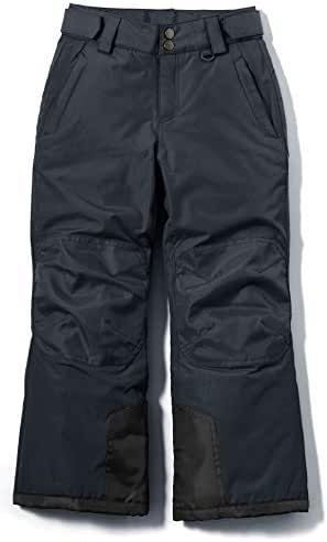 TSLA Youth Cargo Snow Pants Windproof Ski Insulated Water-Repel Rip-Stop Bottoms