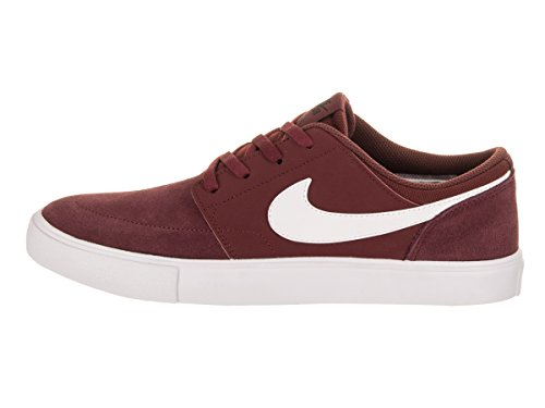 Red Ii Gs Portmore Dark Boys' Sb Nike Shoes Black Team Skateboarding White wtqzHBp