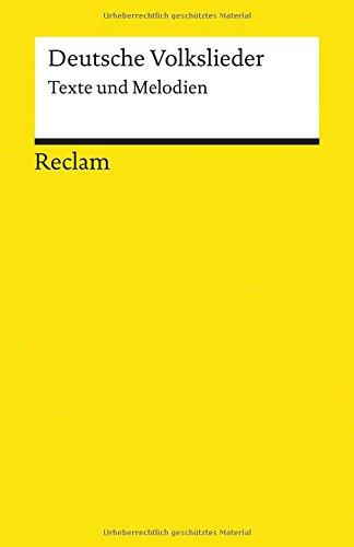 Deutsche Volkslieder: Texte und Melodien (Reclams Universal-Bibliothek) Broschiert – November 2006 Sigrun Jantzen Philipp jun. GmbH Verlag