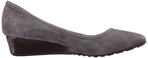 Cole Cock Womens Tali Luxury 40 Wig Pump Stormcloud Suede