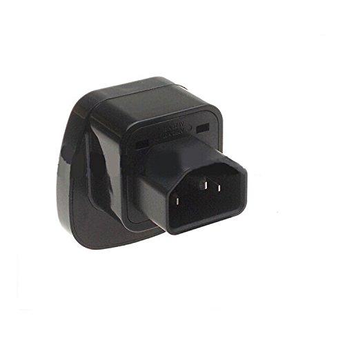 IEC C14 to Universal Female AU US UK EU C13 Safe Socket Power Adapter AC Plug