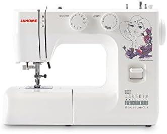 Janome máquina para Coser it 1028 Glamour: Amazon.es: Hogar