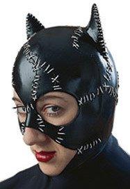 [Catwoman Mask Batman Returns Adult Size] (Catwoman Batman Returns Costume)