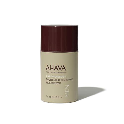 AHAVA Men's Dead Sea Mineral Shaving Line (Best After Shave Moisturizer)