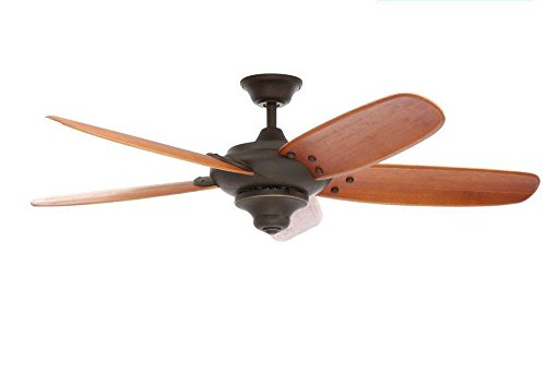 "Home Decorators ""Altura"" 60"" Outdoor Oil Rubbed Bronze Ceili"