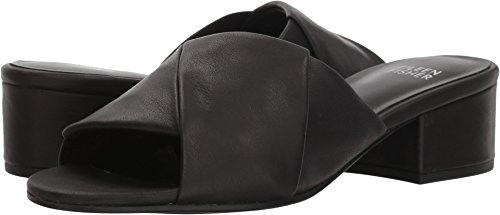 Eileen Fisher Womens Ruche Black Leather