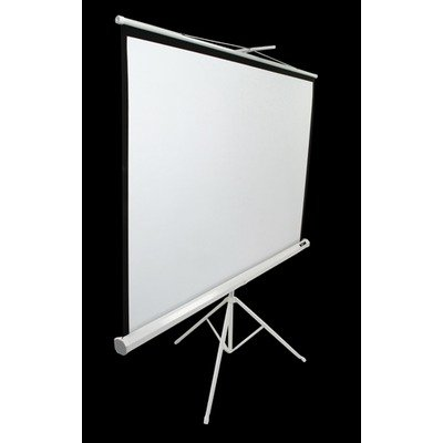 MaxWhite Tripod Series Tripod / Portable Pull Up Projector Screen - 71'' Diagonal in White Case Size: 99'' Diagonal by Elite Screens