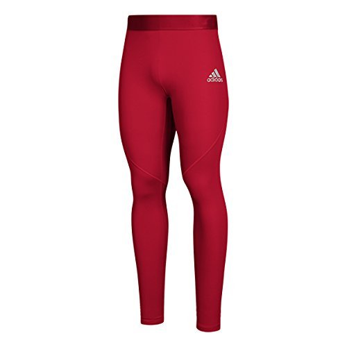adidas AlphaSkin Long Tight Mens Training L Power Red