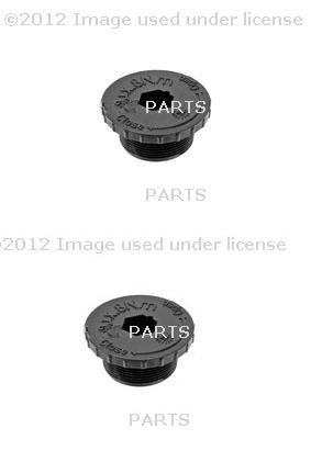 Set of 2 Transmission Drain Plug ZF 24117520713 BMW 745Li 760Li 525i 530i 335d 740i 2012 (Transmission Plug Set)