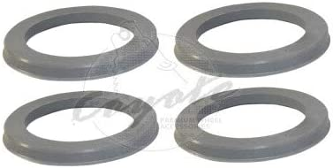 Coyote Wheel Accessories 74-7256 Hub Centric Ring Set of 4 74mm OD to 72.56mm ID