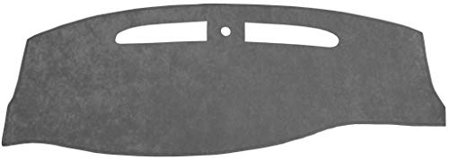 Seat Covers Unlimited Lincoln Town Car Dash Cover Mat Pad - Fits 1998-2002 (Custom Suede Charcoal)
