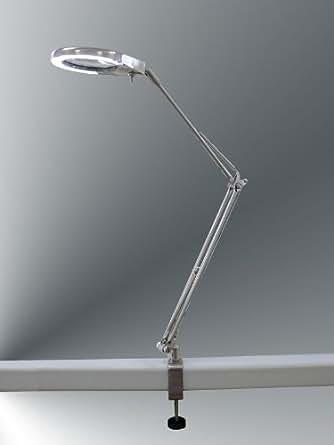 Diseño lámpara con lupa, con pinza, Daylight Nina Clip 10154