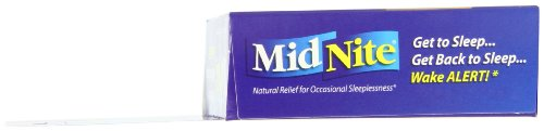 MidNite Natural Sleep Supplement, 30-Count Box (Pack of 2)