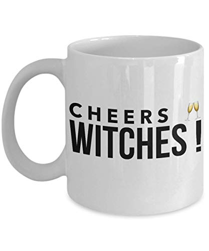 Funny Witches Coffee Mug 11 oz Ceramic - Funny Gifts | Hocus Pocus 31st October Spooky Cup | Unique Quote Gift Idea for Halloween | -