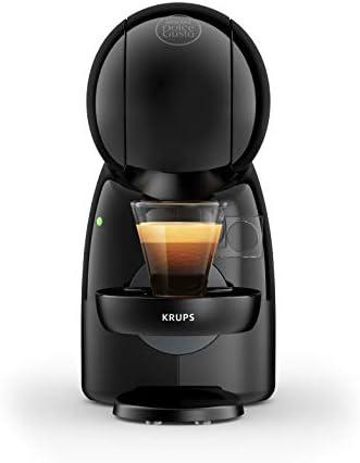 Krups Nescafé Dolce Gusto Piccolo XS KP1A3BKA, Sistema ad Alta Pressione fino a 15 bar, 30 bevande a base di caffè di alta qualità, Capacità del serbatoio 0.8 L, Raccogli-gocce amovibile, Nero
