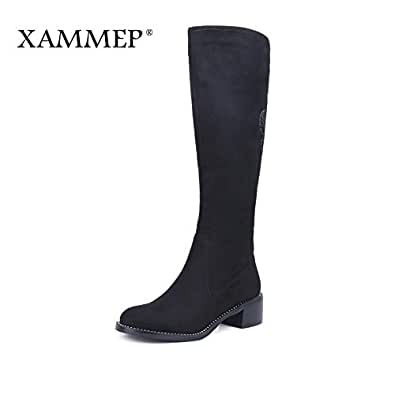Amazon.com: Fumak: Women's Winter Shoes Knee High Boots