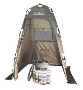 Porta-Quick Brief ReliefField Lavatory Kit w/Privacy Shelter