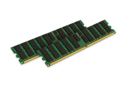 Chipkill Server - Kingston Technology 8GB Kit (2 x 4GB) 400MHz DDR2 240-pin DIMM Dual Rank for select IBM Servers KTM2865/8G