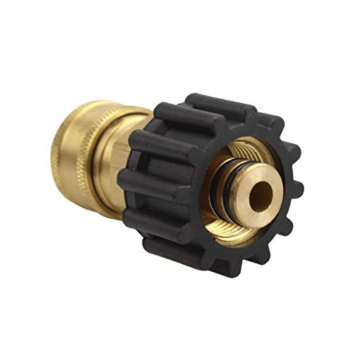 TUHUT 3/8 inch Quick Connect to M22 Female Metric Fitting fo