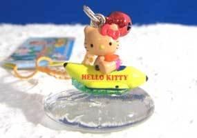 Sanrio Hello Kitty Tropical Summer Vacation Nestuke Strap (Banana Boat) -