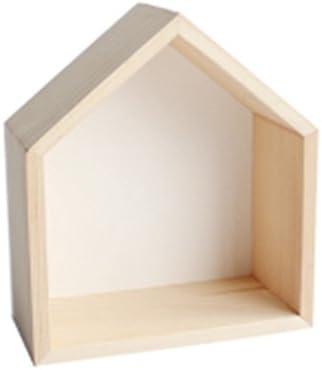 JCRNJSB® 棚、スモールハウスオーナメントシェルフ収納オーナメントウォールマウント20 * 17 * 8cm リムーバブルに保存できます シェルフシェルフ 本棚 (色 : #5)