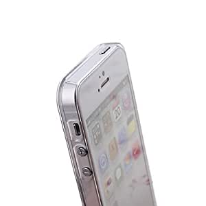 DUR Solid Color Pattern Plastic Hard Back Case for Samsung Galaxy S3 I9300 (White)