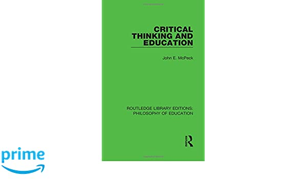 critical thinking teaching philosophy Other journals that have played a role in the rise of informal logic include argumentation, philosophy and rhetoric, argumentation and advocacy (formerly the journal of the american forensic association), teaching philosophy, inquiry: critical thinking across the disciplines and, more recently, cogency and argument and computation.
