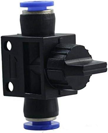 V/álvula de cierre de v/álvula de voguing herramienta neum/ática Uni/ón Tubo neum/ático neum/ático de aire Quick Fittings para aire agua aspiradora