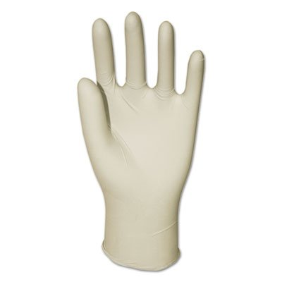 Boardwalk 315LCT Powder-Free Synthetic Vinyl Gloves Large Cream 4 mil 1000/Carton