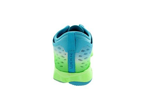 Nike Kvinna Zooma Fit Agility Låg Topp Snörning Igång Sneaker Clearwater / Blk / Flsh Lm / Bl Lgn
